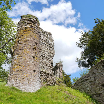August 2017 - Snodhill Castle, Herefordshire