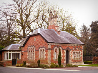 Gate lodge office Belfast, Northern Ireland